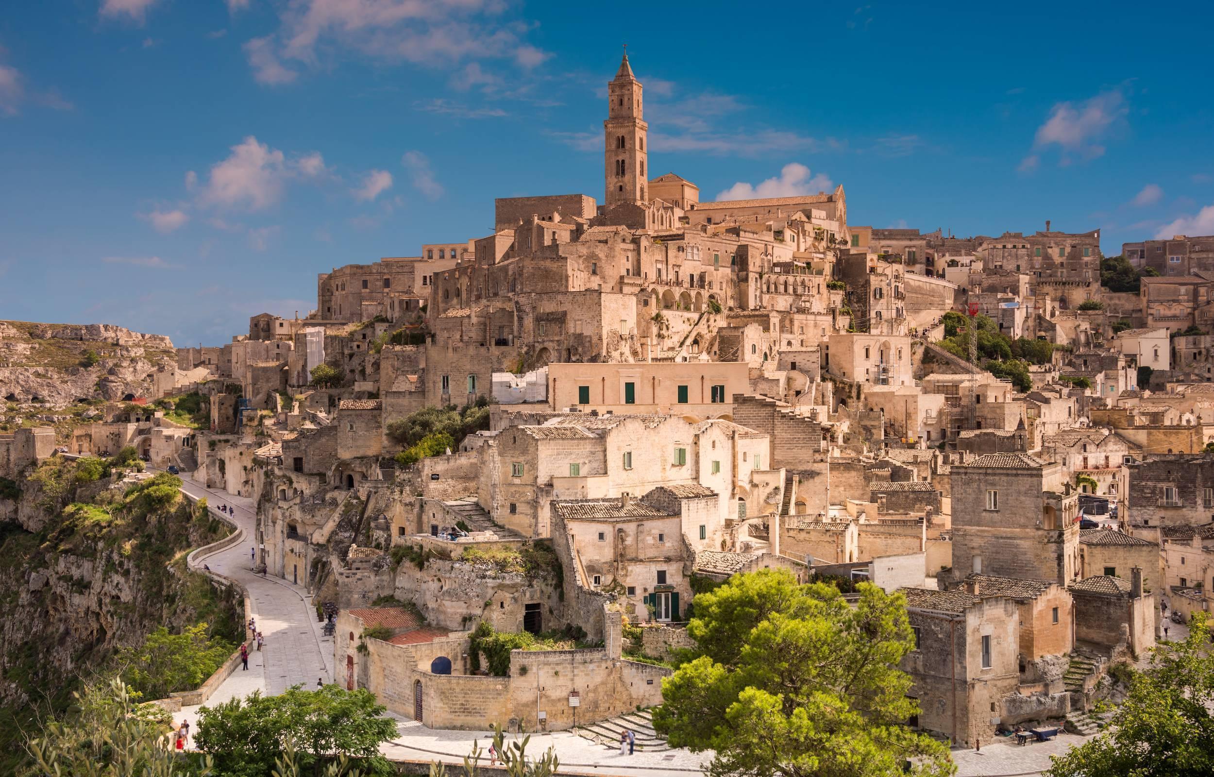 Matera, Alberobello e le Città Bianche della Valle d'Itria