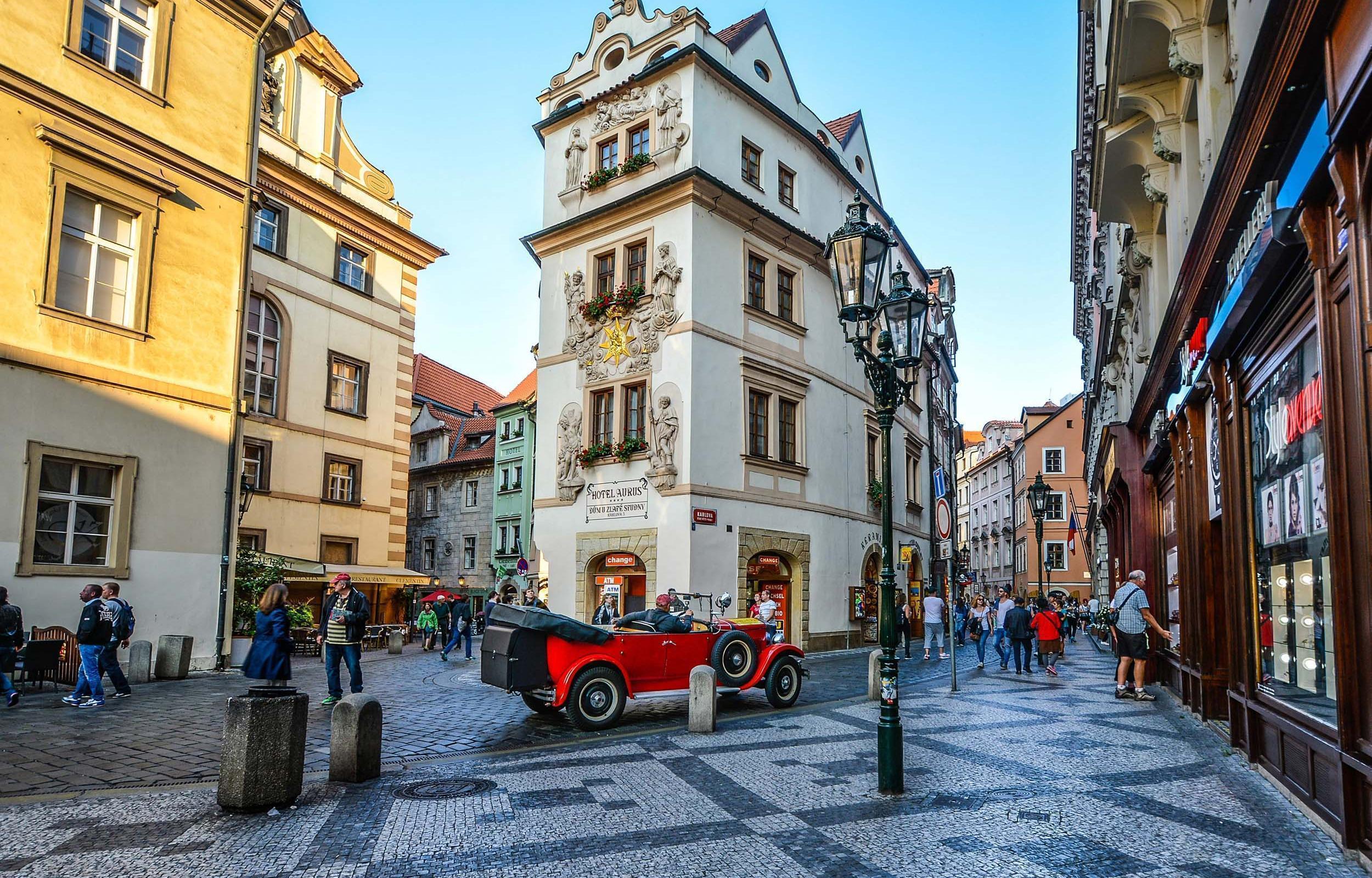 Praga e Vienna