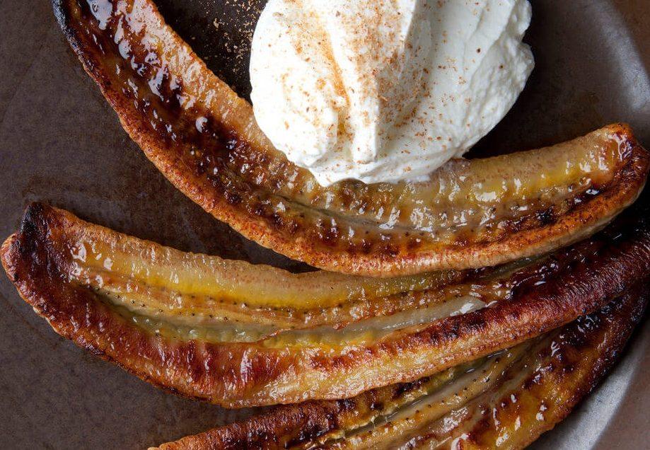 RICETTE Banane arrostite