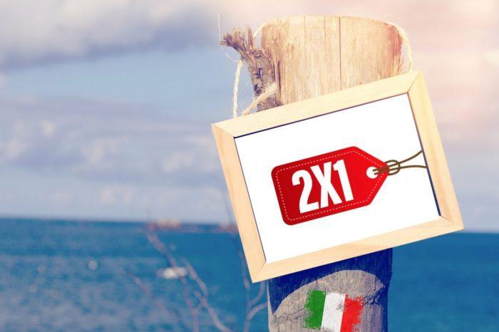 Offerte viaggi 2X1 in Italia