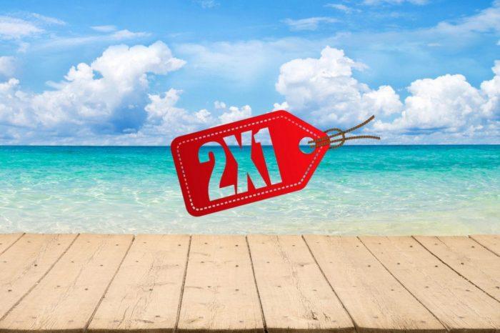 Offerte viaggi 2×1 in Grecia, Mar Rosso, Tunisia, Portogallo