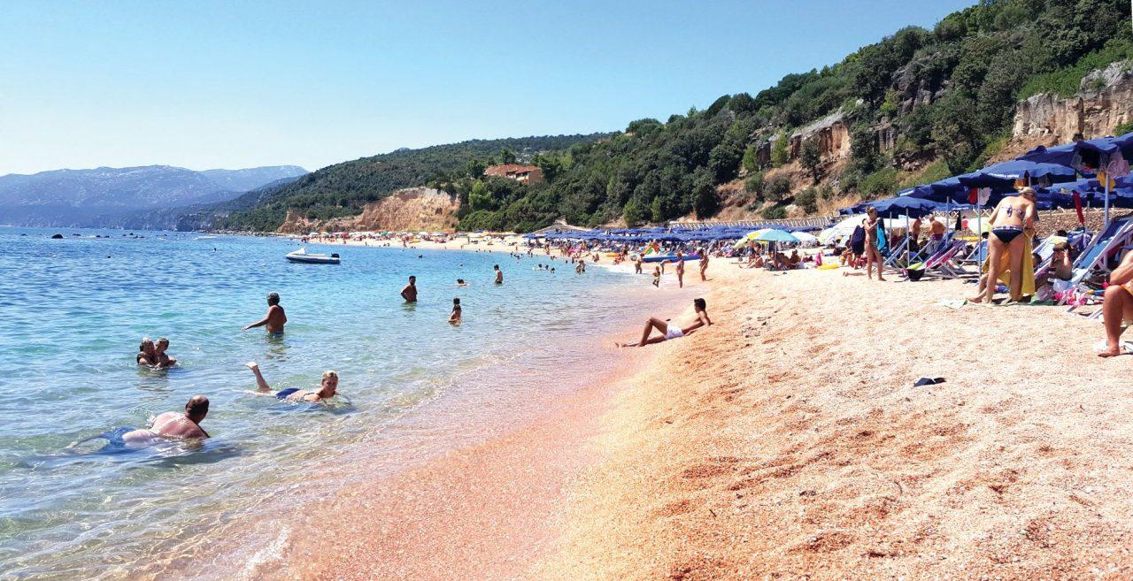 spiaggia cala gonone palmasera