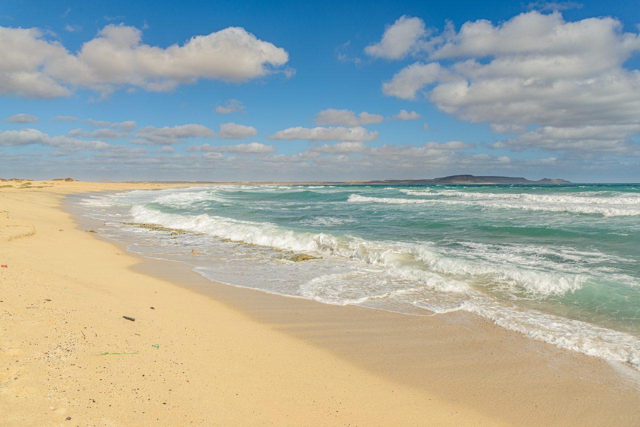 Capo Verde spiaggia