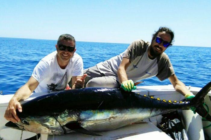 Pescando: Lazio: charter di pesca nel Golfo di Gaeta