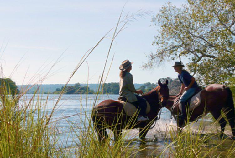 Zimbabwe passeggiata a cavallo