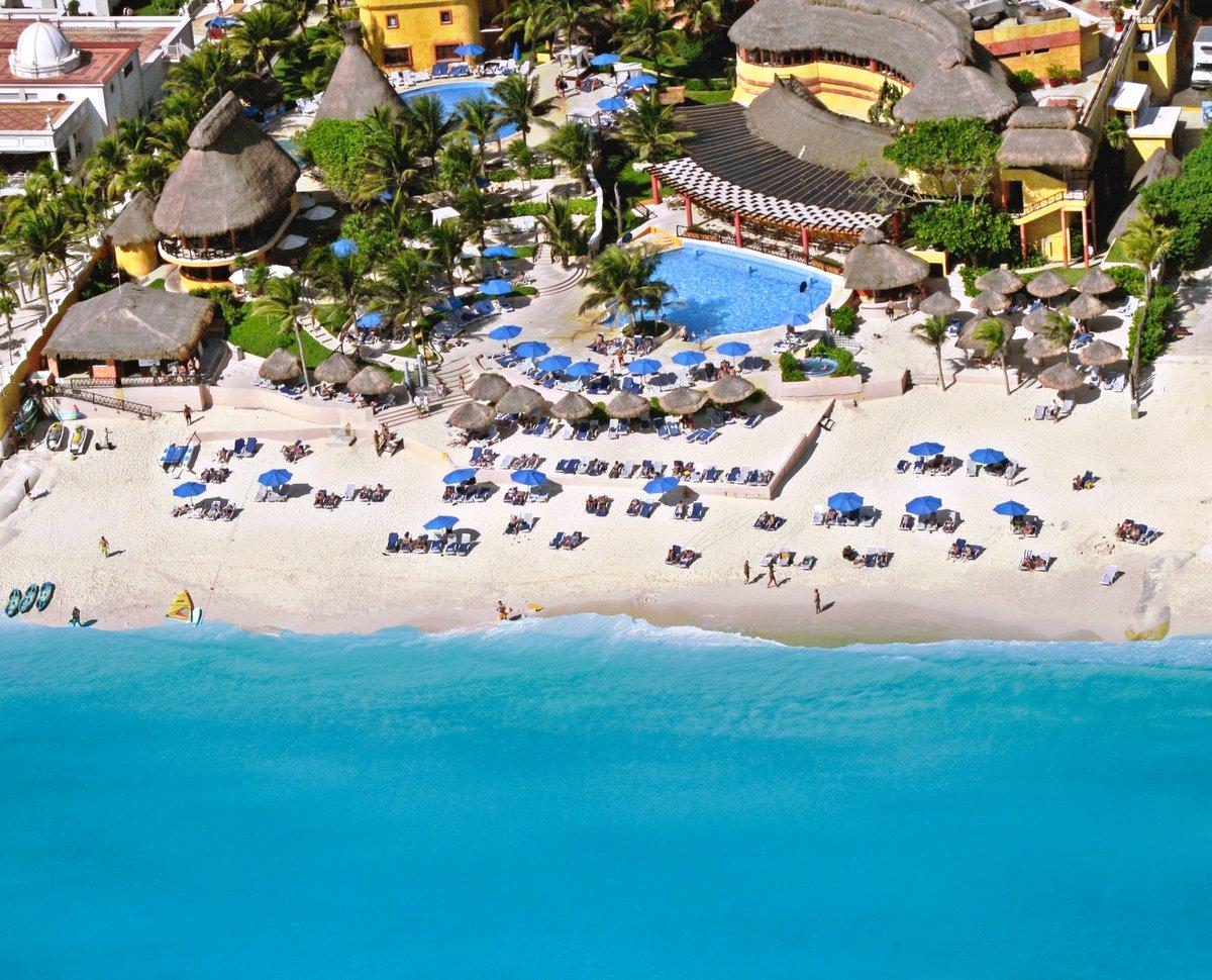 Hotel The Reef Playacar struttura completa