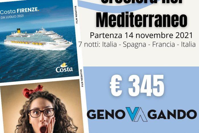 Crociera nel mediterraneo Italia, Spagna, Francia